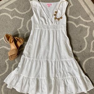 Lilly Pulitzer embroidered-detail dress